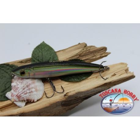 Artificial Liplesses Señuelos sea Viper 11.5 cm-25g de Hundimiento. col. plata/negro FC.V344