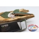 Artificiale Lipless Jerk Viper 12,5cm 22gr Sinking col. orange/silver FC.V349