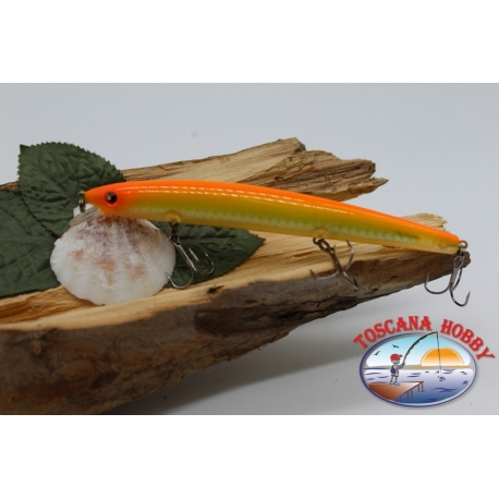Künstliche minnow Viper 13cm 15gr Floating col. yellow/orange FC.V368
