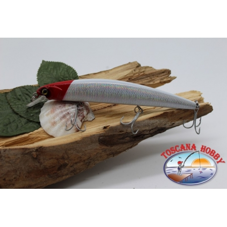Artificiale Minnow Jerk 3 ancorette 13cm-18,5gr Floating col.iridescente FC.V383