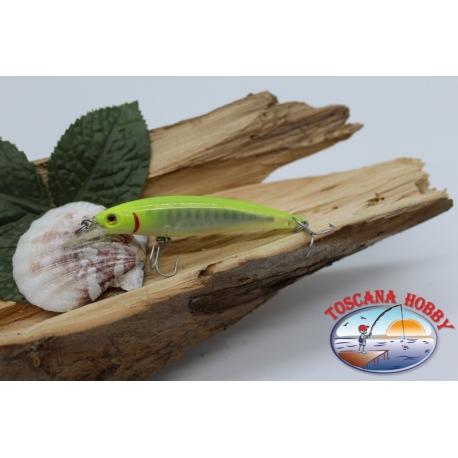 Artificielles-De-Vipère pêche à la traîne, 7cm-5gr Naufrage col. jaune FC.V438