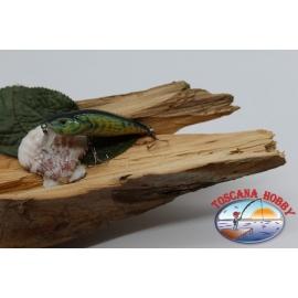 Artificiale pesciolino gozzo Viper 6,5cm-7,5gr Floating col. raganella FC.V453