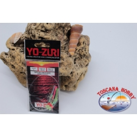 Sabiki Yo-zuri holographic wire 0,35 length 135cm 6 ami mis.4 FC.A112