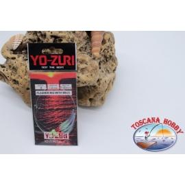 Sabiki Yo-zuri holo-draht 0,35 länge 135cm 6 ami-mis.8 FC.A115