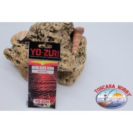 Mini Day Rig Sabiki Yo-zuri filo 0,25 lunghezza 115cm 4 ami mis.10 FC.A120