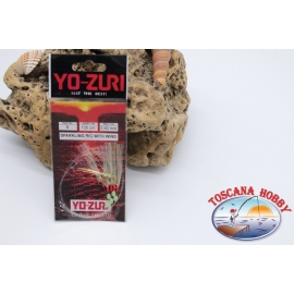 Sparkling Rig Sabiki Yo-zuri filo 0,40 lunghezza 135cm 5 ami mis.6 FC.A123