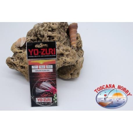 Daylite Flash Rig Sabiki Yo-zuri-draht 0,30 länge 135cm 5 ami-mis.8 FC.A124