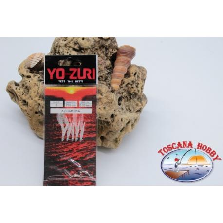 Sabiki Yo-zuri alambre 0,35 longitud 220 cm 5 ami mis.8 FC.A127