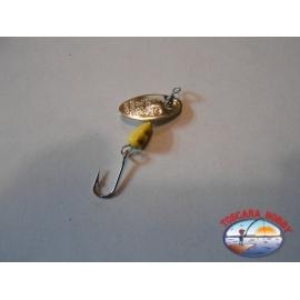 Teelöffel Rotierenden Panther Martin gr. 1 - Schaufel Silber.R4