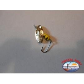 Cucchiaino Rotante Panther Martin da gr. 1 - Paletta Oro.R5