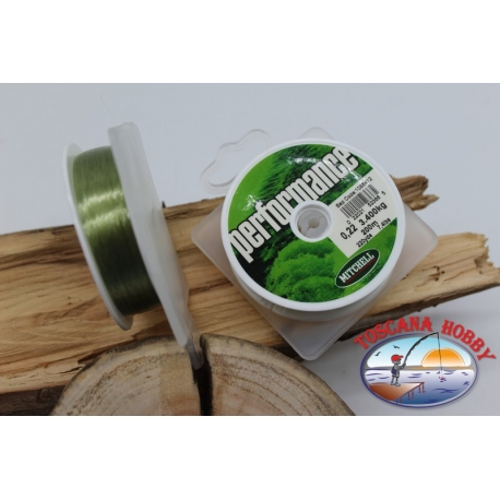The coil of wire Mitchell performance 200m - 0.22 mm FC.F7