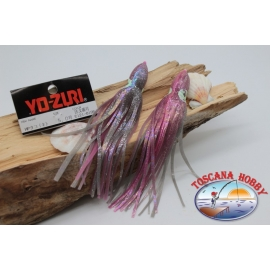 Pack of 2 Octopus-C121-0196 Yo-zuri 15cm FC.P5