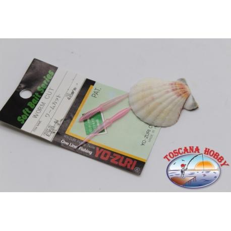 pack de 7 piezas de Gusano de la corte E359-4 Yo-zuri 4.8 cm FC.P64