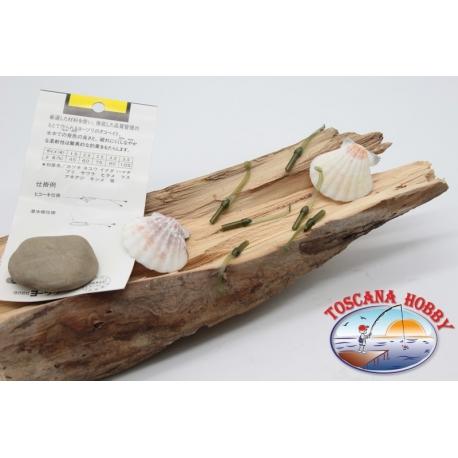Packung mit 10 anguilline ragloo Mepps 4,5 cm col. dunkelgrün FC.P133