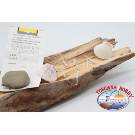 Packung mit 10 anguilline ragloo Mepps 4,5 cm col. weiß FC.P134