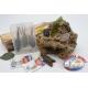 Box assortito con rane e topi siliconici Yo-zuri 14cm + ami Mustad FC.S44