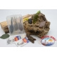 Box sortiert, mit fröschen und mäusen silikon-Yo-zuri 14cm + angelhaken Mustad FC.S44