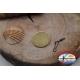 1 Bustina da 12 pz. di moschettoni Mustad serie 77550 brunito sz. 16 FC.G54