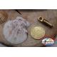 1 Bustina 12 pz. di girelle Mustad serie 77508 gold sz.7 FC.G77