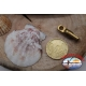 1 Sachet, 12 pcs. of swivels Mustad series 77508 gold sz.7 FC.G77
