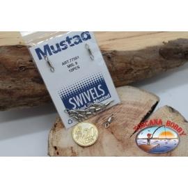 1 Beutel 12 stk. der haken Mustad-serie 77501 sz.8 FC.G93