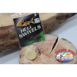 1 Packet 5 pcs. of swivels Heli Swivel Lbs 80 FC.G101