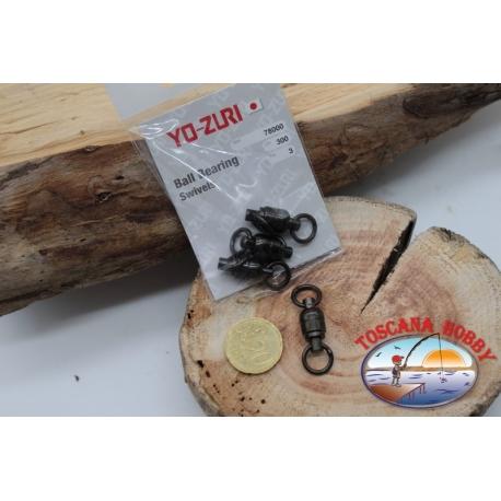 1 Beutel mit 3 stk. der wirbel Yo-zuri-serie 78000 Lbs 300 sz.8 FC.G127