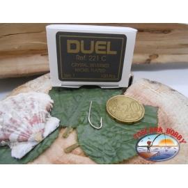 1 Pack of 100pcs ami Duel storti cod. K521C sz.7 FC.A216