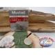 1 Packung mit 10st angelhaken Mustad cod. 60540NPBLN sz.8 mit öse FC.A223B