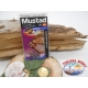 1 Pack of 25 pcs Mustad cod. 3261BLN sz.12 aberdeen with crown FC.A227