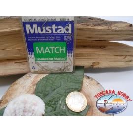 1 Paquete de 25 pcs Mustad-cod. 90316 sz.16 con cabezal FC.A236
