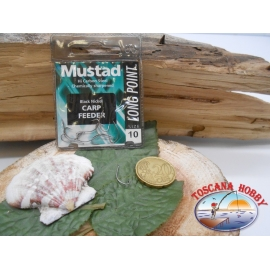 1 Pack of 10 pcs Mustad cod. LP340 sz.10 with the headstock FC.A240
