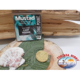 1 Pack of 10 pcs Mustad cod. LP340 sz.14 with the headstock FC.A241