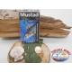 1 Pack 3pcs Mustad antincaglio cod.W3261BLN sz.2/0 FC.A272