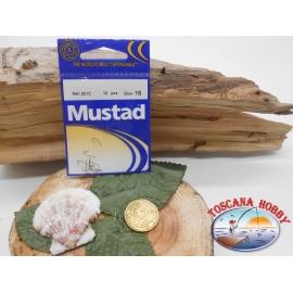 1 paquet de 10 pcs Mustad palette de morue.221C sz.16 FC.A283