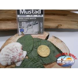 1 beutel mit 10 stk. angelhaken Mustad cod.60020NBR sz.20 FC.A316