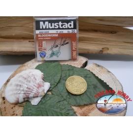 1 beutel mit 10 stk. angelhaken Mustad cod.60015GR sz.20 FC.A320