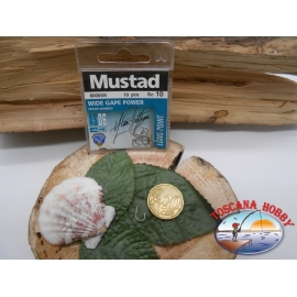 1 beutel mit 10 stk. angelhaken Mustad cod.60005N sz.10 FC.A323