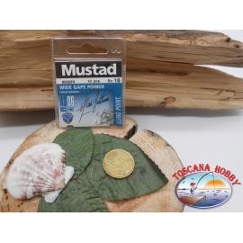 1 beutel mit 10 stk. angelhaken Mustad cod.60005N sz.16 CF.A324