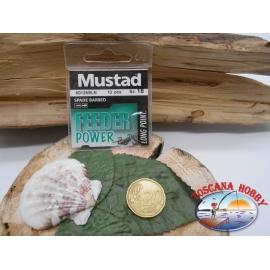 1 bustina da 10 pz ami Mustad cod.60126BLN sz.18 FC.A327