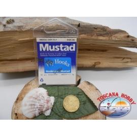 1 beutel mit 25 st. angelhaken Mustad cod.80100BR sz.26 CF.A339