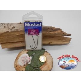 1 paquet de 5 pièces Mustad storti de la morue.39121BLN sz.5/0 FC.A342