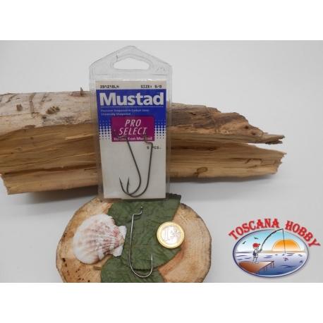 1 paquet de 5 pièces Mustad cod.39121BLN sz.5/0 FC.A342