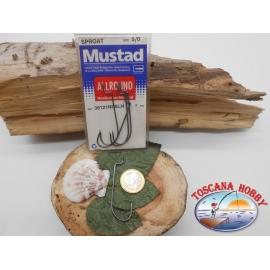 1 paquet de 5 pièces Mustad storti de la morue.39121NPBLN sz.5/0 FC.A344