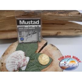 1 beutel mit 10 stk. angelhaken Mustad cod.60020NBR sz.22 FC.A317