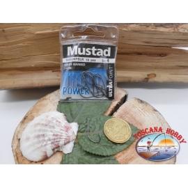 1 bustina 10 pz ami Mustad, paletta cod.52002NPBLN sz. 4  FC.A382