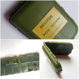 1 boîte de Magie crochets de porte et pivote, 9,5X6,5X2,8 cm de nom de marque Mustad FC.B1