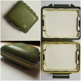 1Fly box Meiho MFS260, verde, 9x3,5cm made in Japan FC.S3