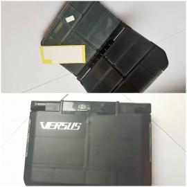 1 boîte de Rapport de la quincaillerie de porte VS-388SD, 12X9,7X2,5 cm FC.B6
