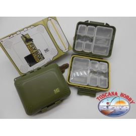 1 box Meiho Fly MFS-242 con accessori waterproof, per minuterie FC.B8